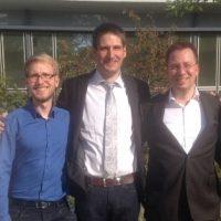 Alexander Pfabel und Tim Otto mit Ehrenamtsnadel ausgezeichnet