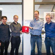 Deutsch-Luxemburgisches Schengen-Lyzeum in Perl mit Notfall-Defibrillator ausgestattet.