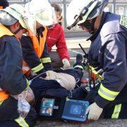 Feuerwehrmann erfolgreich reanimiert
