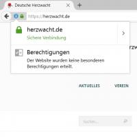 Verschlüsselung: Herzwacht per HTTPS erreichbar